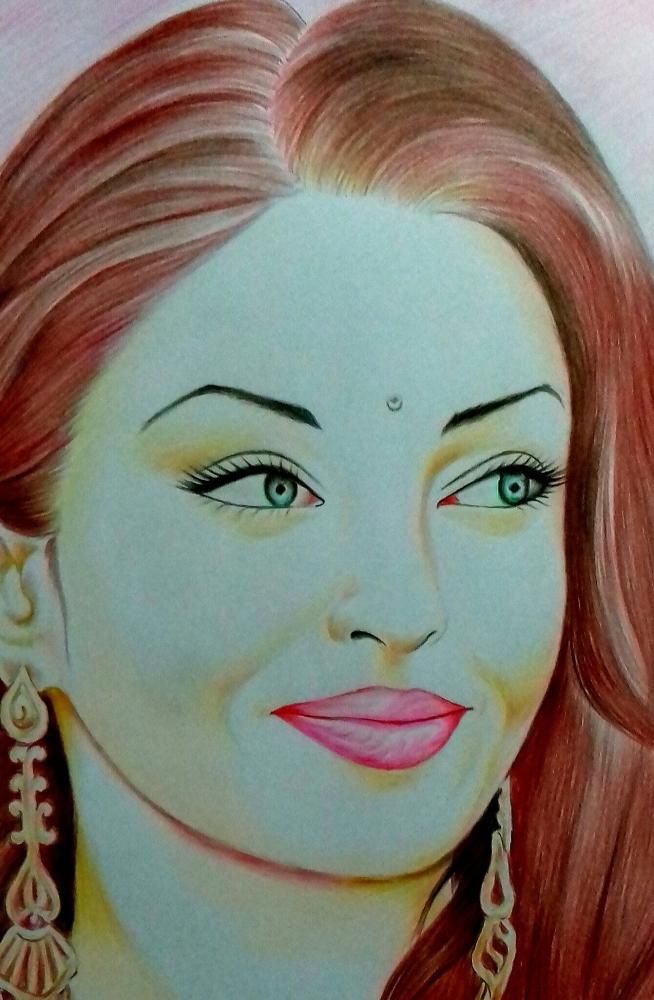 Aishwarya Rai by ranju